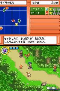 Pantalla Pokémon Ranger