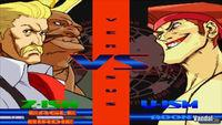 Pantalla Street Fighter Alpha 3 Max