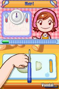 Pantalla Cooking Mama