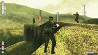 Pantalla Metal Gear Solid Portable Ops