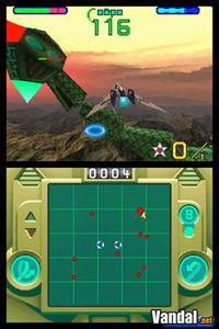 Pantalla StarFox Command