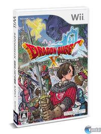 Publicada la cartula de Dragon Quest X