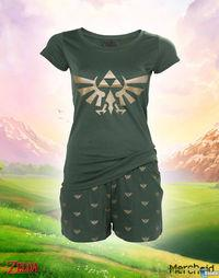 Announced an official pajamas for women The Legend of Zelda