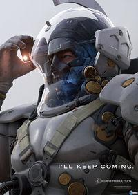 Shown face Ludens, the 'pet' Kojima Productions