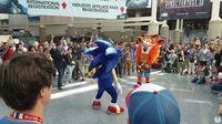 Crash and Sonic are facing a duel of dance at E3 2017
