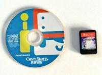 this is the edition physics of Cave Story+ for the Nintendo Switch