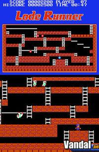 Pantalla Lode Runner DS