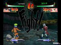 Pantalla Naruto: Clash of Ninja