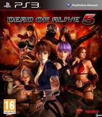 Se muestra la cartula de Dead or Alive 5