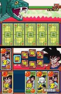 Pantalla Dragon Ball Z Goku Densetsu
