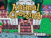 Pantalla Animal Crossing