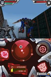 Imagen Transformers: The Game Autobots & Decepticons