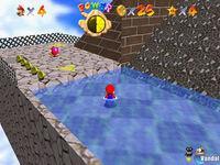 Pantalla Super Mario 64 CV