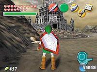 Pantalla The Legend of Zelda: Ocarina of Time CV