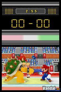 Pantalla Mario y Sonic en los Juegos Olímpicos