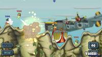 Pantalla Worms Open Warfare 2
