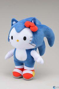 Sonic y Hello Kitty se fusionan