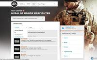 EA podr�a haber filtrado Medal of Honor: Warfighter para PS Vita