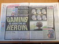 The Sun compare video game heroine