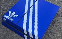 An artist designed appearances for PS4 and Xbox One emulating sports shoe boxes