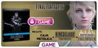 GAME detailing its exclusive edition on Blu-ray for Kingsglaive: Final Fantasy XV