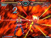 Pantalla Guilty Gear X2 Accent Core