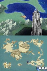 Pantalla Final Fantasy IV DS
