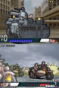 Pantalla Advance Wars: Dark Conflict