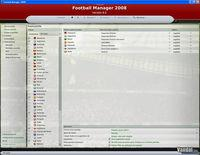 Pantalla Football Manager 2008