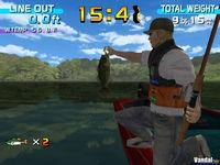 Pantalla Sega Bass Fishing