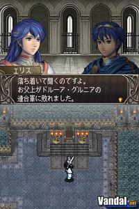 Pantalla Fire Emblem: Shadow Dragon