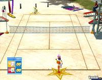 Pantalla Sega Superstars Tennis