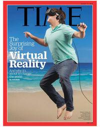 Reviews and jokes about reporting TIME dedicated to virtual reality