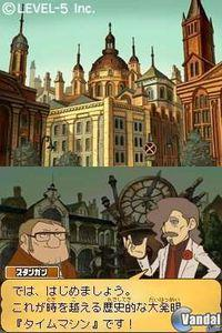 Imagen Professor Layton y el futuro perdido