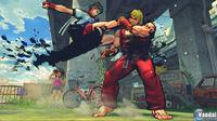 Pantalla Street Fighter IV