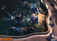 Pantalla Command & Conquer: Red Alert 3