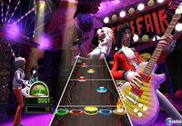 Pantalla Guitar Hero World Tour