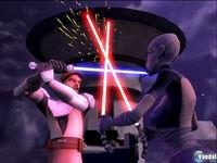 Pantalla Star Wars: The Clone Wars - Lightsaber Duels