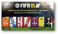 EA Sports FIFA 15 launches custom of the Liga covers