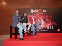 2K NBA 2k16 presents in Spain