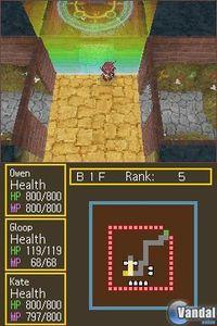 Pantalla Dungeon Maker