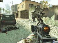 Pantalla Call of Duty: Modern Warfare: Reflex