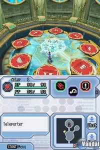 Pantalla Phantasy Star Zero