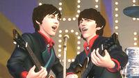 Pantalla The Beatles: Rock Band