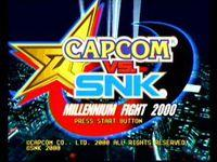 Pantalla Capcom vs SNK