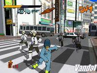 Pantalla Jet Set Radio