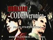 Pantalla Resident Evil Code: Veronica