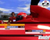 Pantalla F1 Career Challenge