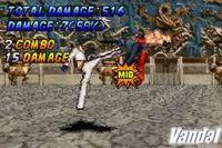 Pantalla Tekken Advance