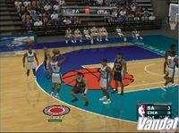 Pantalla NBA Courtside 2002